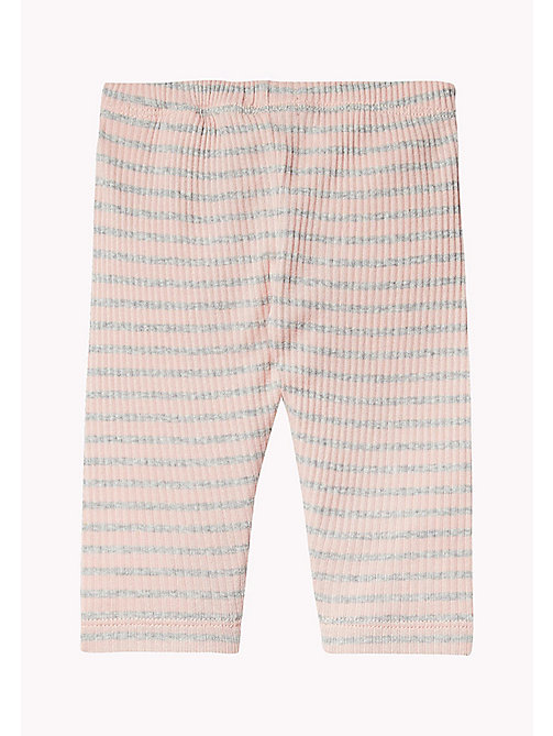 TOMMY HILFIGER Stripe Trousers - PEACHSKIN - TOMMY HILFIGER Girls - detail image 1