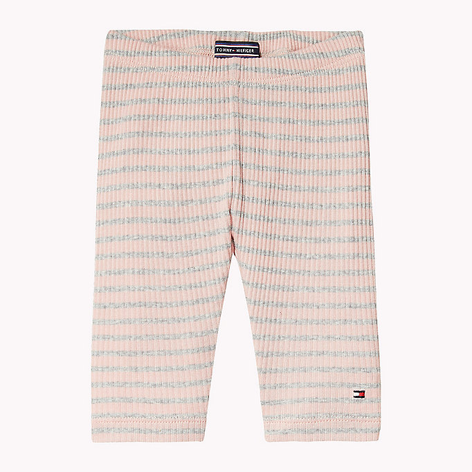 TOMMY HILFIGER Stripe Trousers - BLACK IRIS - TOMMY HILFIGER Kids - main image