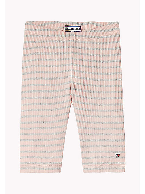 Stripe Trousers - PEACHSKIN - TOMMY HILFIGER Kids - main image