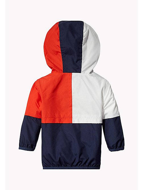 TOMMY HILFIGER Signature Colour-Blocked Jacket - BLACK IRIS - TOMMY HILFIGER Babies - detail image 1