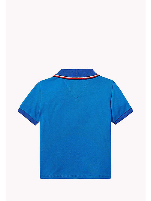 TOMMY HILFIGER Poloshirt mit Badge - NAUTICAL BLUE - TOMMY HILFIGER Jungen - main image 1