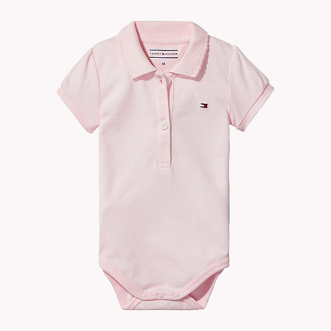 TOMMY HILFIGER Romper voor baby's - BABY BLUE - TOMMY HILFIGER Babies - main image