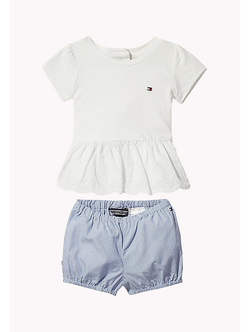 TOMMY HILFIGER Butterfly Baby Two Piece - BRIGHT WHITE - TOMMY HILFIGER Girls - main image