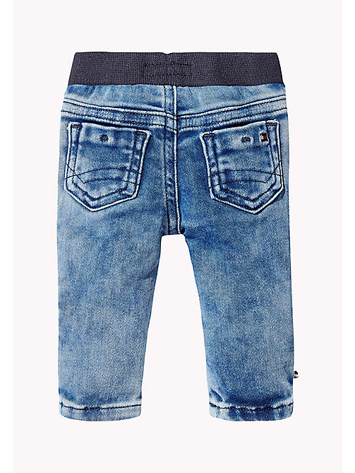 TOMMY HILFIGER Stretch Regula Fit Jeans - SLIGA MID BLUE - TOMMY HILFIGER Boys - detail image 1