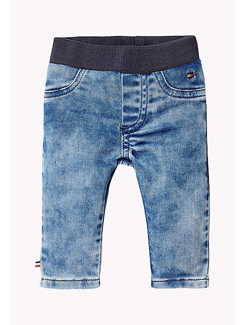 TOMMY HILFIGER Stretch Regula Fit Jeans - SLIGA MID BLUE - TOMMY HILFIGER Boys - main image