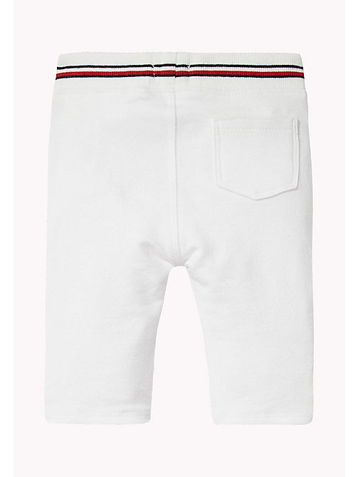 TOMMY HILFIGER Stripe Baby Trousers - BRIGHT WHITE - TOMMY HILFIGER Boys - detail image 1
