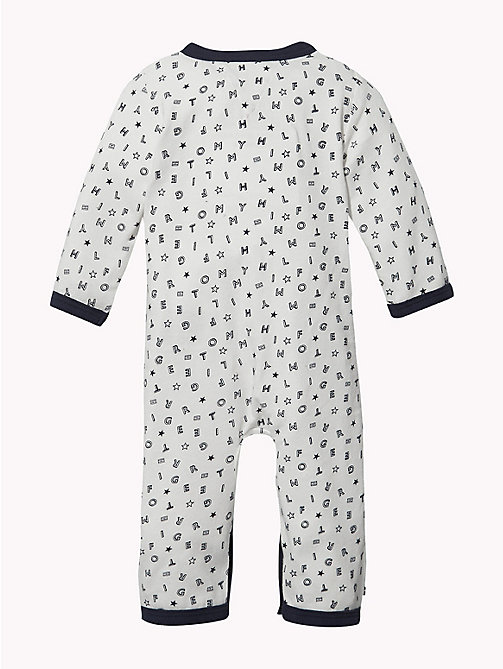 TOMMY HILFIGER Baby Tommy Hilfiger Babygrow - BLACK IRIS - TOMMY HILFIGER Boys - detail image 1