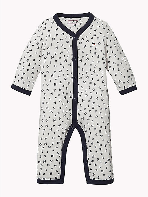 TOMMY HILFIGER Baby Tommy Hilfiger Babygrow - BLACK IRIS - TOMMY HILFIGER Babies - main image