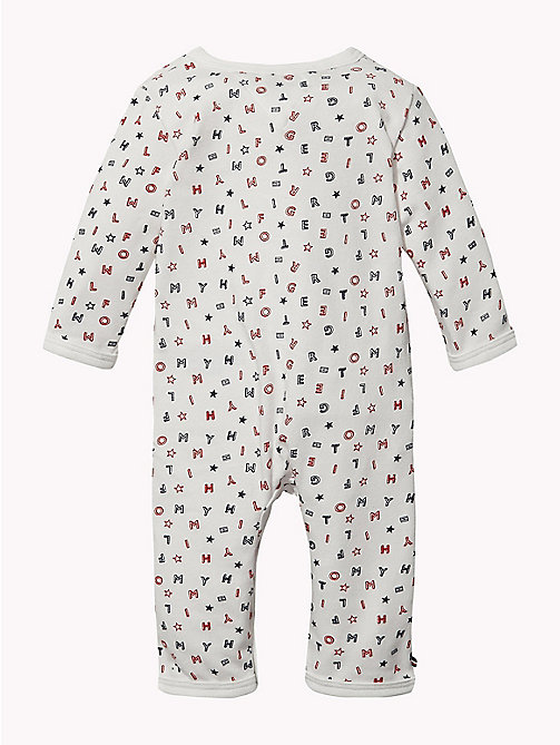 TOMMY HILFIGER Baby Tommy Hilfiger Babygrow - APPLE RED - TOMMY HILFIGER Babies - detail image 1