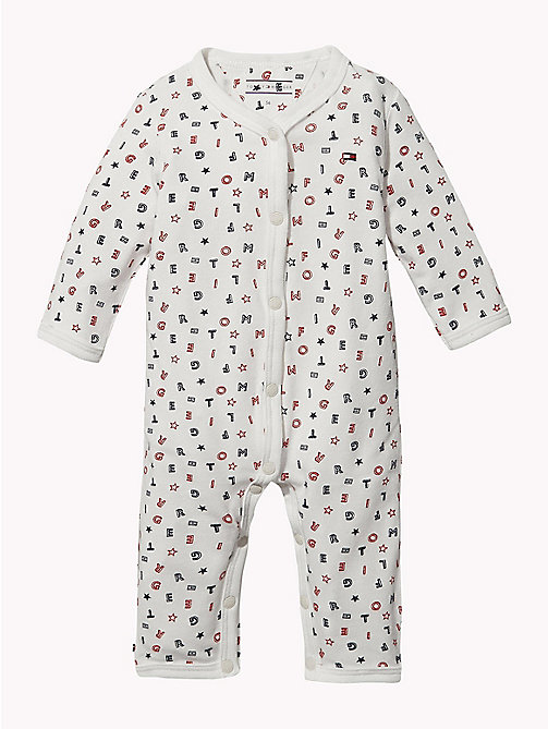 TOMMY HILFIGER Baby Tommy Hilfiger Babygrow - APPLE RED - TOMMY HILFIGER Babies - main image