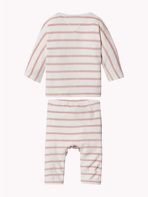 TOMMY HILFIGER Baby Stripe Two-Piece - BLUSH - TOMMY HILFIGER Girls - detail image 1