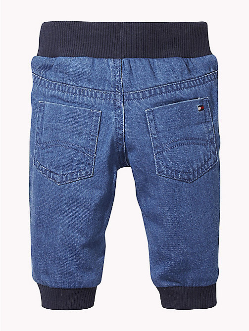 TOMMY HILFIGER Baby Denim Trousers - REDDING MID - TOMMY HILFIGER Boys - detail image 1