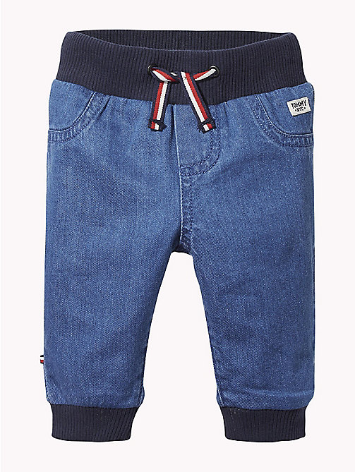 TOMMY HILFIGER Baby Denim Trousers - REDDING MID - TOMMY HILFIGER Babies - main image
