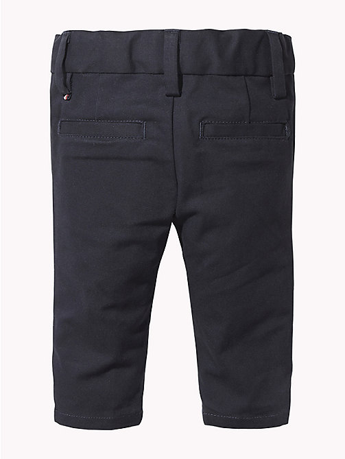 TOMMY HILFIGER Baby Chino Trousers - BLACK IRIS - TOMMY HILFIGER Boys - detail image 1