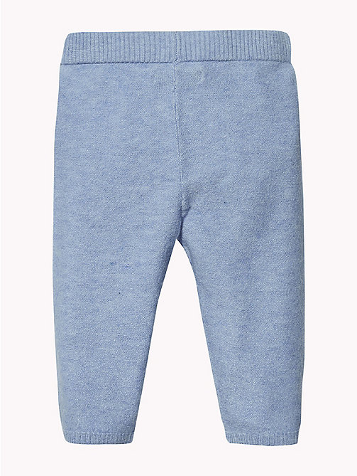 TOMMY HILFIGER Baby Knitted Trousers - DUSK BLUE - TOMMY HILFIGER Boys - detail image 1
