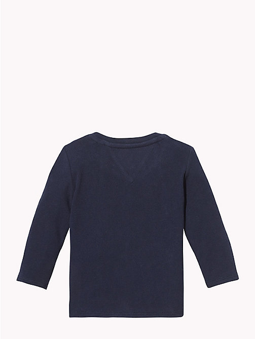 TOMMY HILFIGER Baby Tommy Long-Sleeved T-Shirt - BLACK IRIS - TOMMY HILFIGER Boys - detail image 1