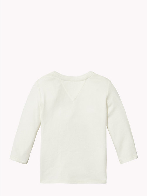 TOMMY HILFIGER Baby Tommy Long-Sleeved T-Shirt - MARSHMALLOW - TOMMY HILFIGER Boys - detail image 1
