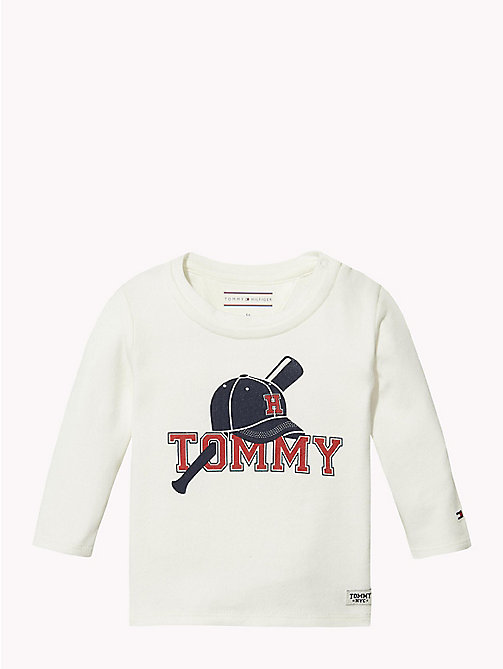 TOMMY HILFIGER Baby Tommy Long-Sleeved T-Shirt - MARSHMALLOW - TOMMY HILFIGER Boys - main image