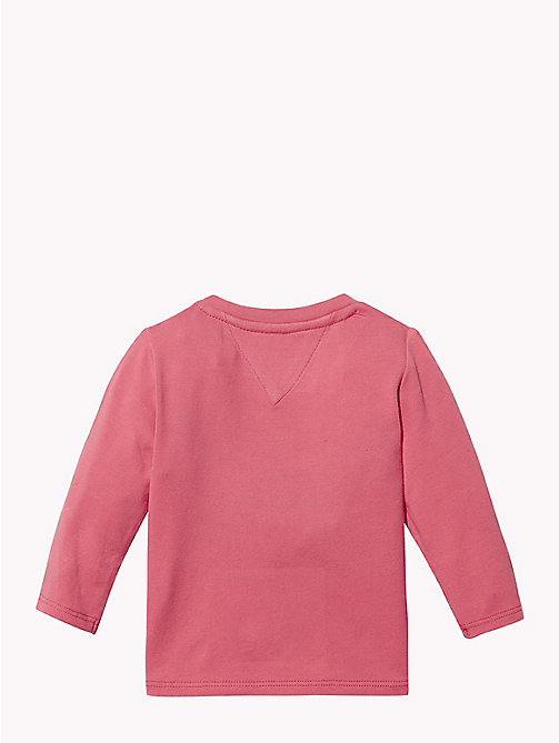 TOMMY HILFIGER Baby Logo Long-Sleeve T-Shirt - ROSE OF - TOMMY HILFIGER Girls - detail image 1