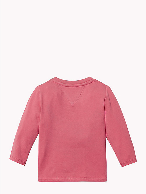TOMMY HILFIGER Baby Logo Long-Sleeve T-Shirt - ROSE OF - TOMMY HILFIGER Babies - detail image 1