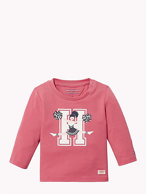 TOMMY HILFIGER Baby Logo Long-Sleeve T-Shirt - ROSE OF -  Babies - main image