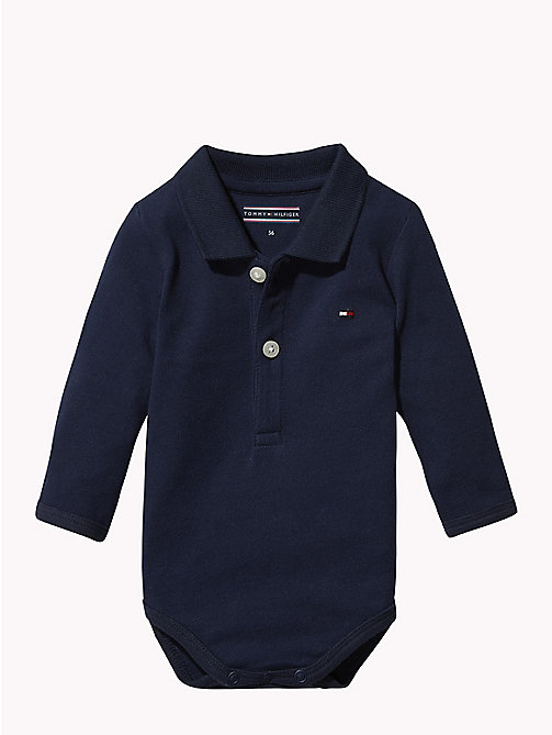 TOMMY HILFIGER Baby Polo Shirt Body Gift Set - BLACK IRIS - TOMMY HILFIGER Babies - main image