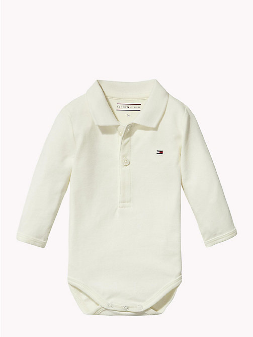 TOMMY HILFIGER Baby Polo Shirt Body Gift Set - MARSHMALLOW - TOMMY HILFIGER Boys - main image