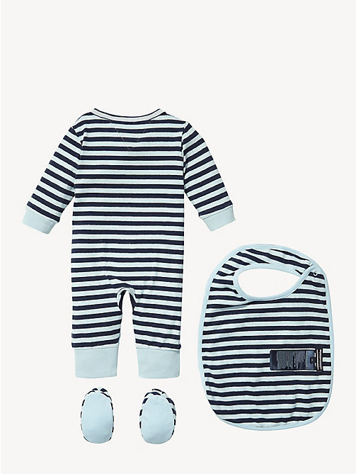 TOMMY HILFIGER Gestreepte baby-cadeauset - BLACK IRIS - TOMMY HILFIGER Babies - detail image 1