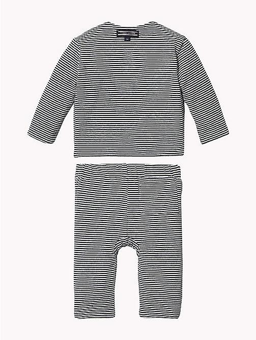 TOMMY HILFIGER Baby Reversible Two-Piece Gift Set - BLACK IRIS -  Babies - detail image 1