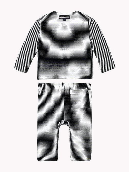 TOMMY HILFIGER Baby Reversible Two-Piece Gift Set - BLACK IRIS - TOMMY HILFIGER Boys - detail image 1