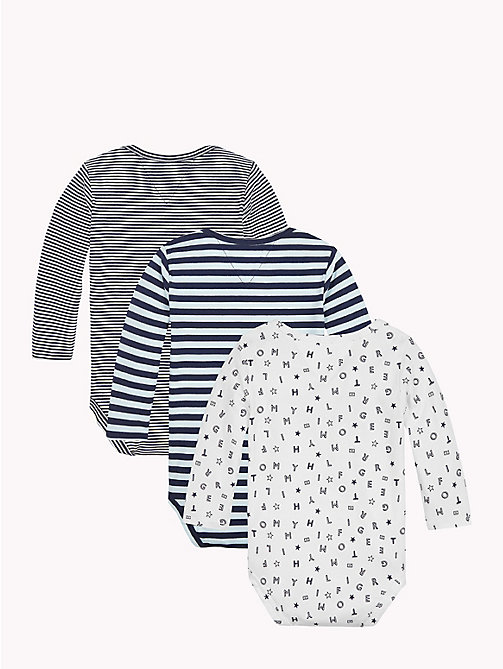 TOMMY HILFIGER Baby Three-Pack Body Gift Set - BLACK IRIS - TOMMY HILFIGER Babies - detail image 1