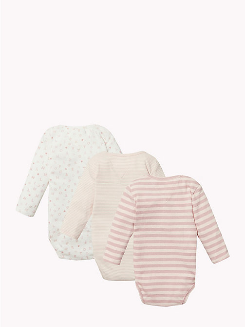 TOMMY HILFIGER Baby Three-Pack Body Gift Set - BLUSH - TOMMY HILFIGER Girls - detail image 1