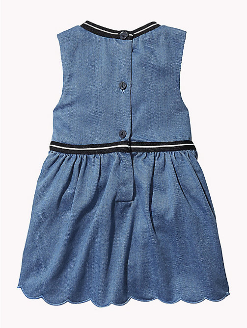TOMMY HILFIGER Baby Sleeveless Denim Dress - REDDING LIGHT - TOMMY HILFIGER Girls - detail image 1