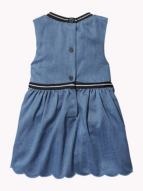TOMMY HILFIGER Baby Sleeveless Denim Dress - REDDING LIGHT - TOMMY HILFIGER Babies - detail image 1