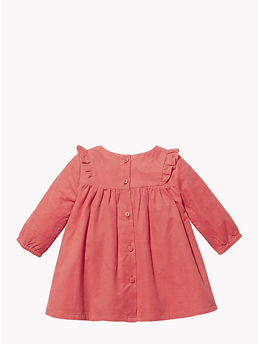 TOMMY HILFIGER Baby Corduroy Dress - ROSE OF - TOMMY HILFIGER Babies - detail image 1