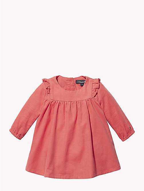TOMMY HILFIGER Baby Corduroy Dress - ROSE OF - TOMMY HILFIGER Babies - main image