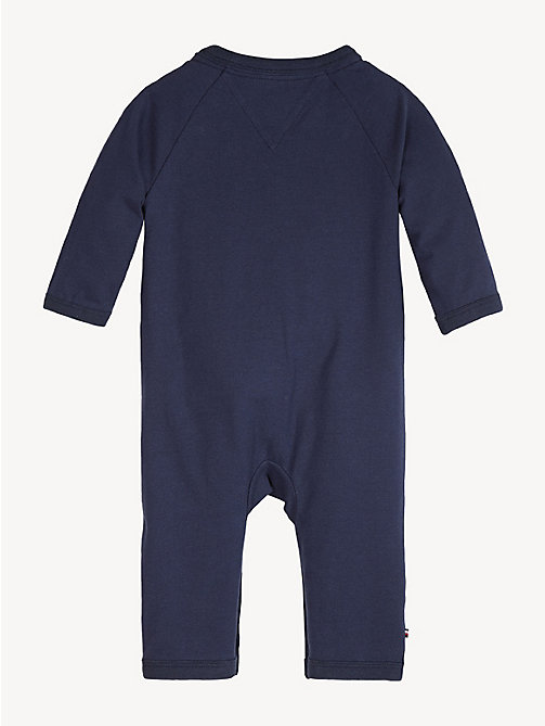 TOMMY HILFIGER Baby Mascot Babygrow - BLACK IRIS - TOMMY HILFIGER Boys - detail image 1