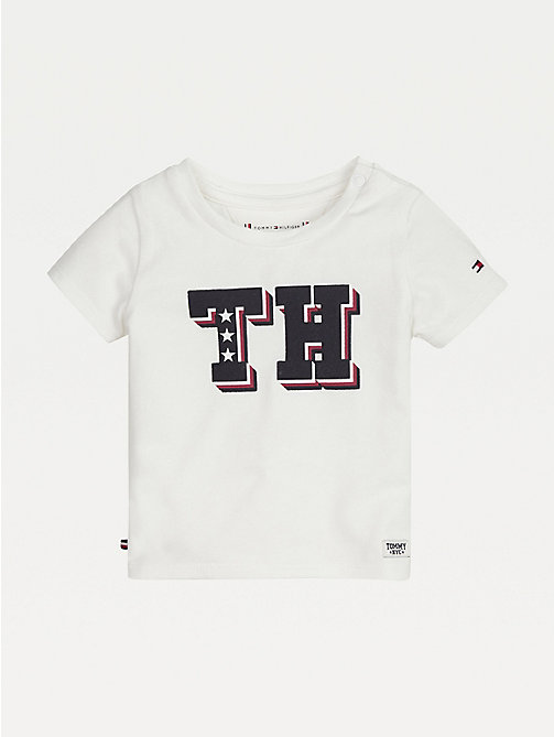 TOMMY HILFIGER Baby Monogram T-Shirt - BRIGHT WHITE - TOMMY HILFIGER Boys - main image