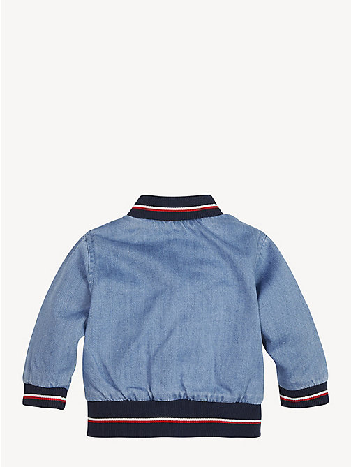 TOMMY HILFIGER Baby Denim Bomber Jacket - REDDING LIGHT - TOMMY HILFIGER Boys - detail image 1