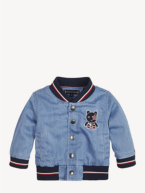 TOMMY HILFIGER Baby Denim Bomber Jacket - REDDING LIGHT - TOMMY HILFIGER Boys - main image