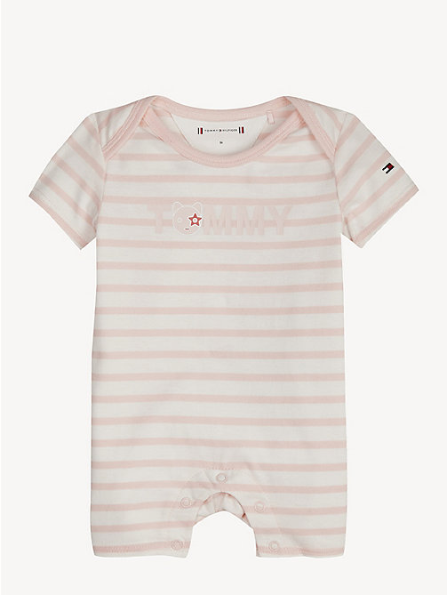 TOMMY HILFIGER Gestreepte babycadeauset - STRAWBERRY CREAM/BRIGHT WHITE - TOMMY HILFIGER Jongens - main image