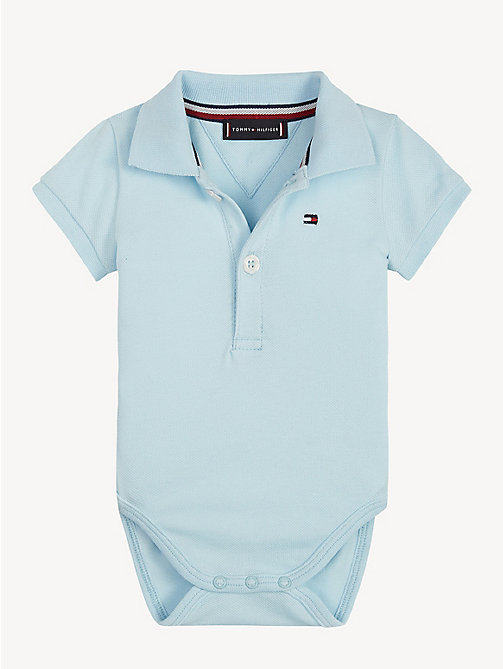 TOMMY HILFIGER Baby Bodysuit Gift Box - CORYDALIS BLUE - TOMMY HILFIGER Boys - main image