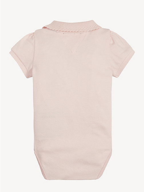 TOMMY HILFIGER Babycadeaubox met 3 rompers - STRAWBERRY CREAM - TOMMY HILFIGER Jongens - detail image 1