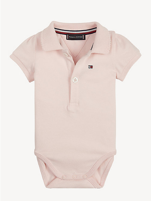 TOMMY HILFIGER Babycadeaubox met 3 rompers - STRAWBERRY CREAM - TOMMY HILFIGER Jongens - main image