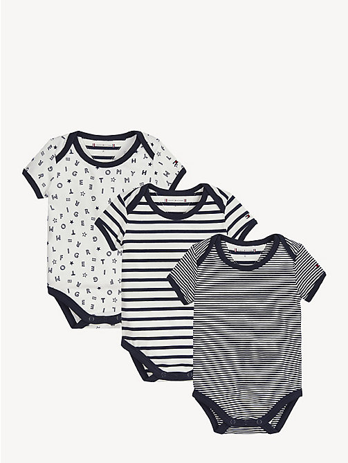 TOMMY HILFIGER Baby Mascot Gift Box - BLACK IRIS / BRIGHT WHITE - TOMMY HILFIGER Boys - main image