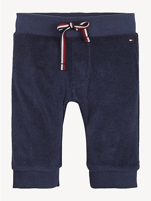 TOMMY HILFIGER Contrast Pocket Baby Joggers - BLACK IRIS - TOMMY HILFIGER Boys - main image
