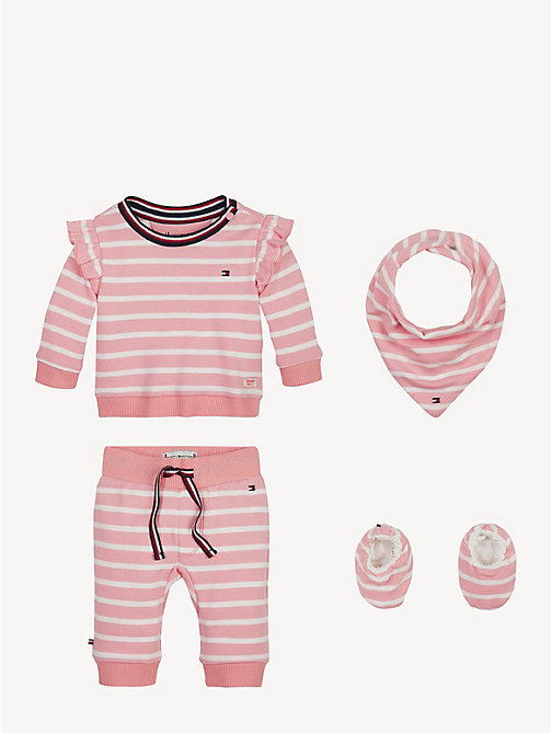 32078f5de TOMMY HILFIGERRugby Stripe Baby Outfit Gift Set. €99.90