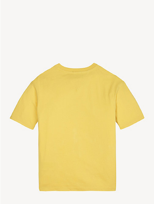 TOMMY HILFIGER Organic Cotton Unisex T-Shirt - ASPEN GOLD - TOMMY HILFIGER Tops & T-shirts - detail image 1