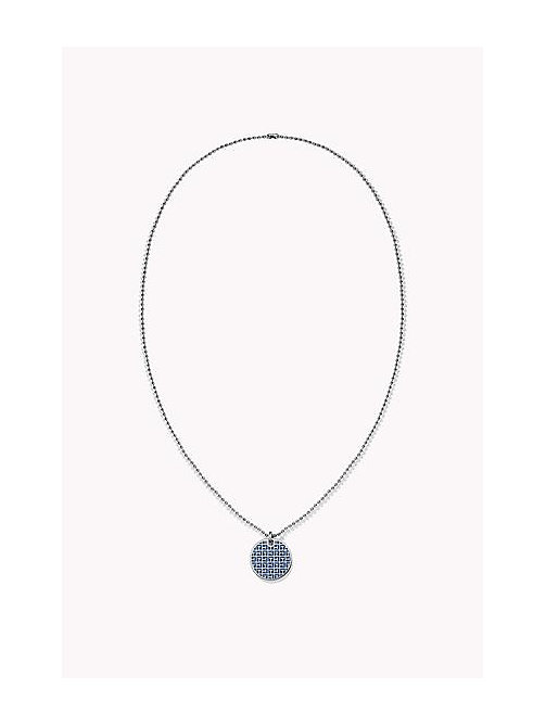 TOMMY HILFIGER Jacquard Enamel Necklace - MULTI - TOMMY HILFIGER Jewellery - main image