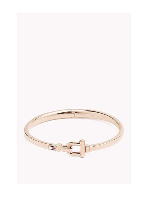 TOMMY HILFIGER D-Clasp Bangle - MULTI - TOMMY HILFIGER Jewellery - main image